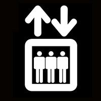 엘리베이터에서
